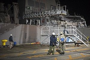 USS Fitzgerald (DDG 62) prepare to depart the pier at Fleet Activities (FLEACT) Yokosuka, Nov. 24.