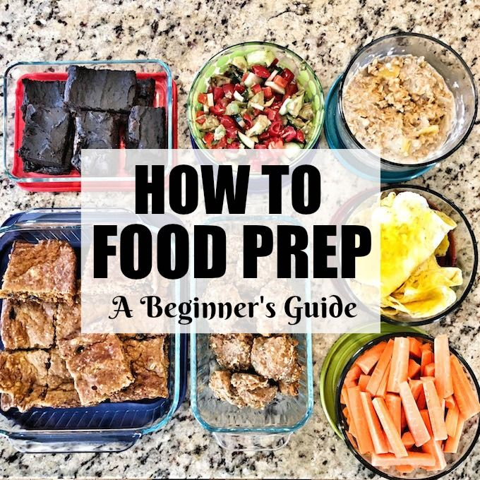 A Beginner's Guide To Food Prep. Follow these 5 simple steps to learn how to food prep. They will help you get organized and prepared so that your time prepping food is more productive and less stressful.