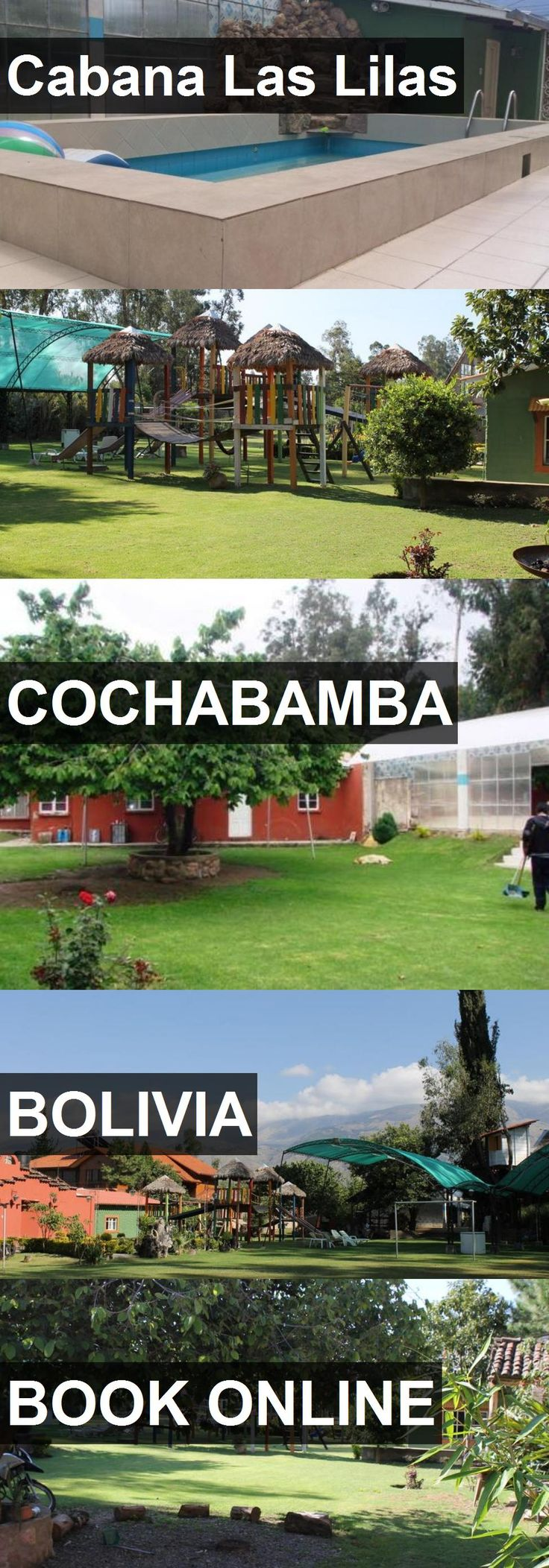 Hotel Cabana Las Lilas in Cochabamba, Bolivia. For more information, photos, reviews and best prices please follow the link. #Bolivia #Cochabamba #CabanaLasLilas #hotel #travel #vacation