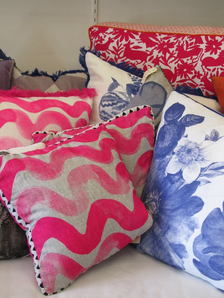 Bonnie and Neil cushions, available through Crave Wares Bellevue Hill