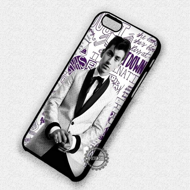 Man Greyscale Image Alexis Tuner - iPhone 7 6 5 SE Cases & Covers #music #arc