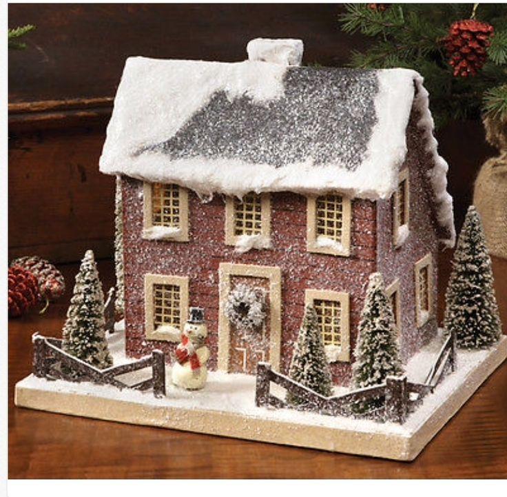 Christmas House Design 112 best handmade christmas village houses images on pinterest