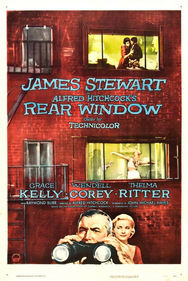 rear window crime genre