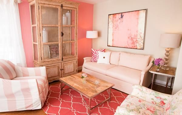44 best SALMON & PINK MAKE YOU GLOW! images on Pinterest | Bedroom ...
