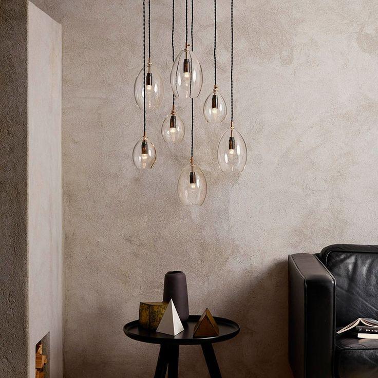 Northern Lighting Unika Glass Pendel   Designbelysning.no