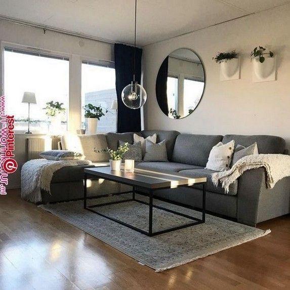70 Modern Farmhouse Living Room Design Ideas 44 Apartment Decor Warm Small