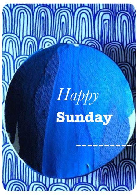 Méchant Design: indigo sunday