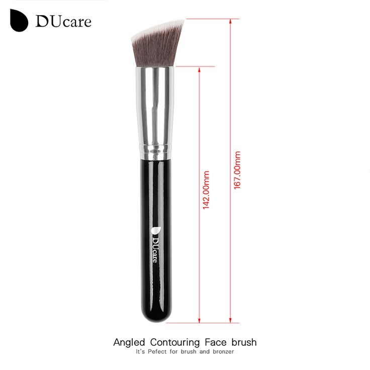 DUcare Berufs Weiche Synthetische Large Cosmetic Blending Foundation Make-Up Pinsel