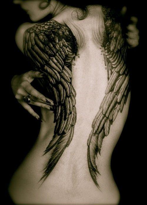 95 besten tattoo fl gel federn engel elfen bilder auf pinterest federn engelchen und. Black Bedroom Furniture Sets. Home Design Ideas