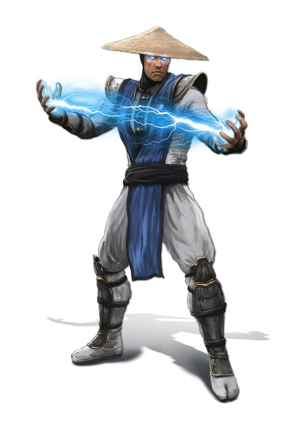 Raiden - I used to spam his lightning attack sooo much when I was a kid. lol