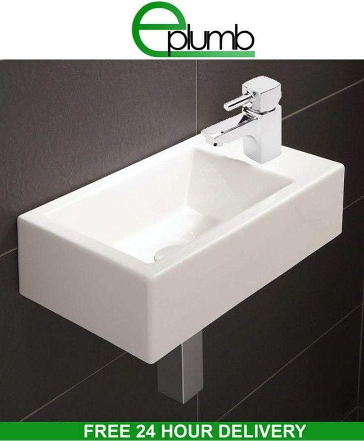 20 Best Cloakroom Ideas Images On Pinterest  Cloakroom Ideas Inspiration Small Bathroom Sinks Uk Design Ideas