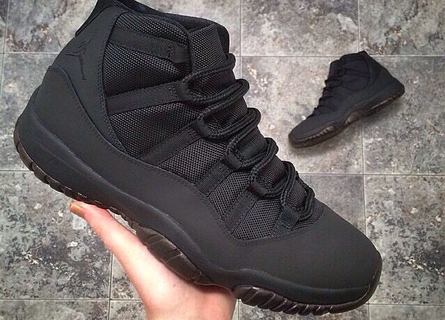 1. Im a bit of a sneakhead. 2. I like customizing things. 3. All-black is my favorite color way. These are dope.