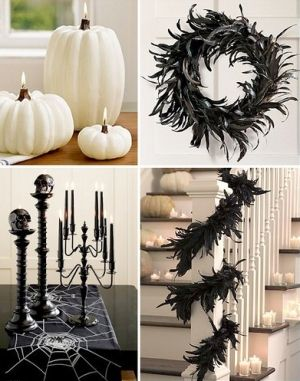 modern halloween decor oogie boogie pinterest