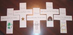 Cross craft - tells Easter story
