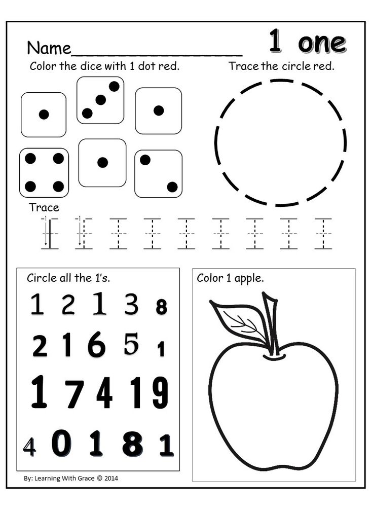 Worksheets Free Number Recognition Worksheets 17 best images about preschool number recognition worksheets free 1 one worksheet