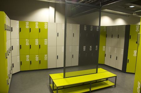 clothes lockers