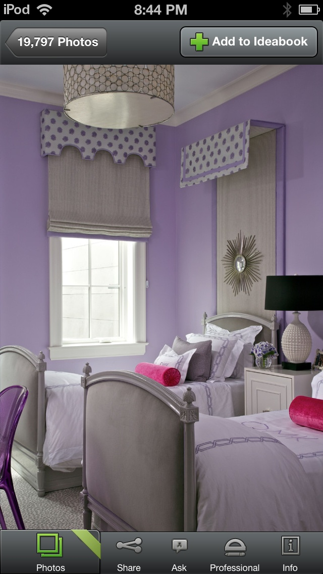 Great idea for sisters sharing a room shared spaces for for Bedroom ideas for siblings sharing