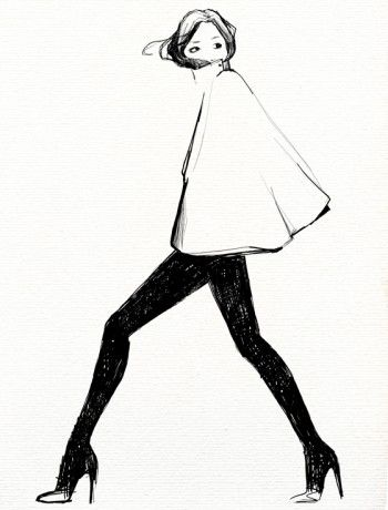 Oranenco Designs Inc - for those days of fashion strike... Timeless - illustration by Garance Doré