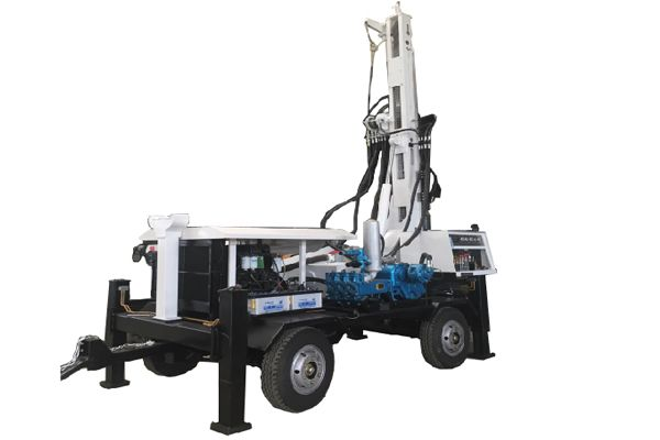 325m Depth Trailer Mounted Borehole Water Well Drilling Rig Water Well Drilling Rigs Water Well Drilling Drilling Rig