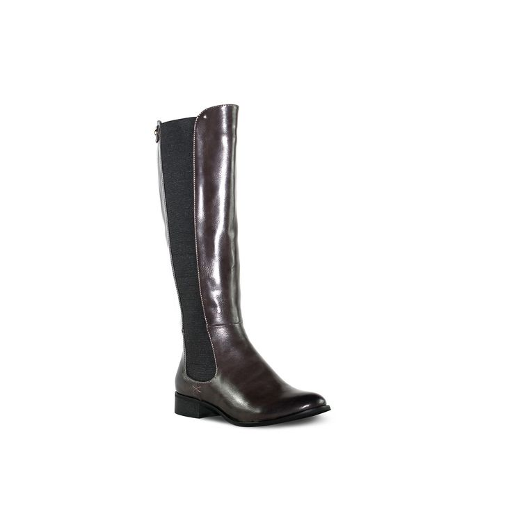 Olivia Miller Waverly Women's Riding Boots, Teens, Size: 8.5, Brown