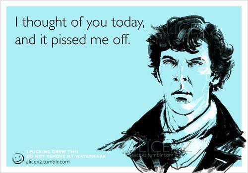 Sherlock Themed Ecard Humor « Randommization