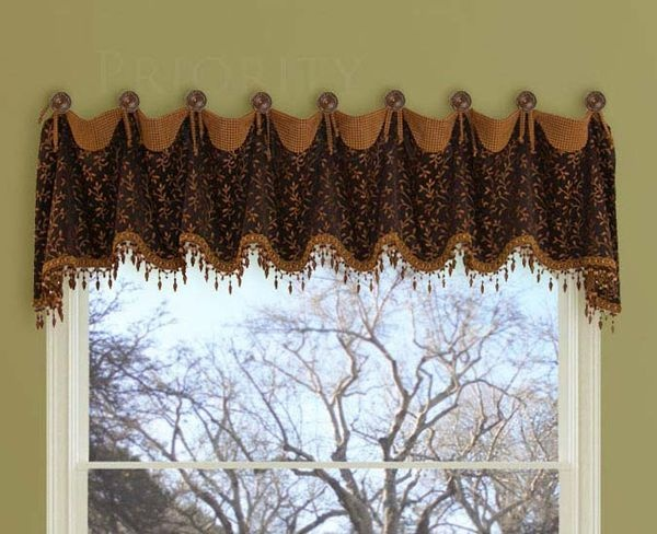 Drapery Medallions And Holdbacks | Foyers And Other Decorating
