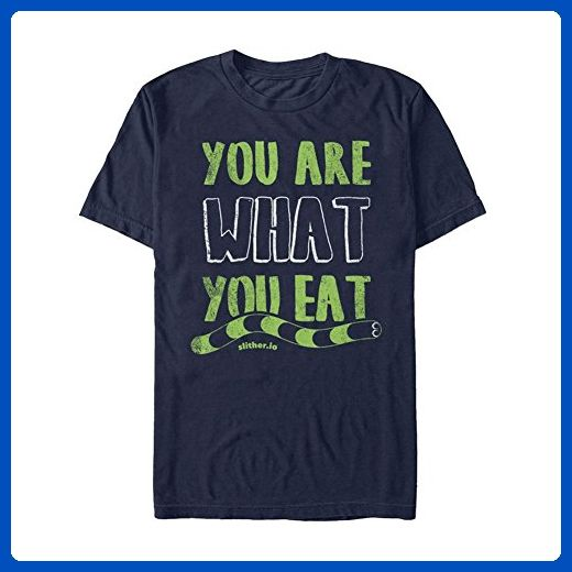 "Unisex-Adult ""You Are What You Eat"" - Slither.Io Online Game Snake T-Shirt - 2X - Animal shirts (*Amazon Partner-Link)"