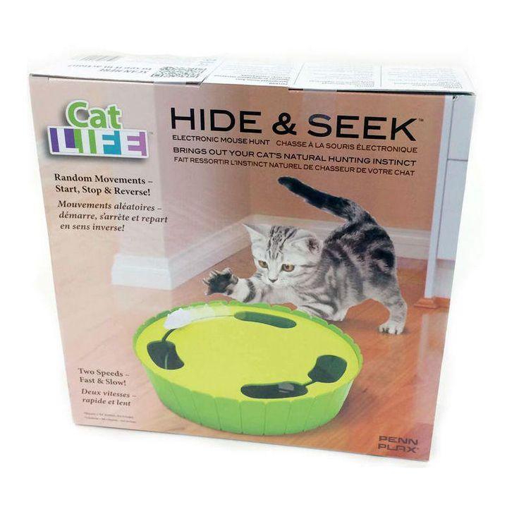 Despierta los instintos naturales de tu gato con este juego electrónico de cazar el ratón. Un juego educativo y muy divertido que tendrá a tu gato distraido durante mucho tiempo.