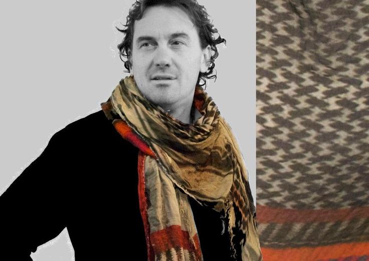 Federico Caselli con la Kefia 2.0