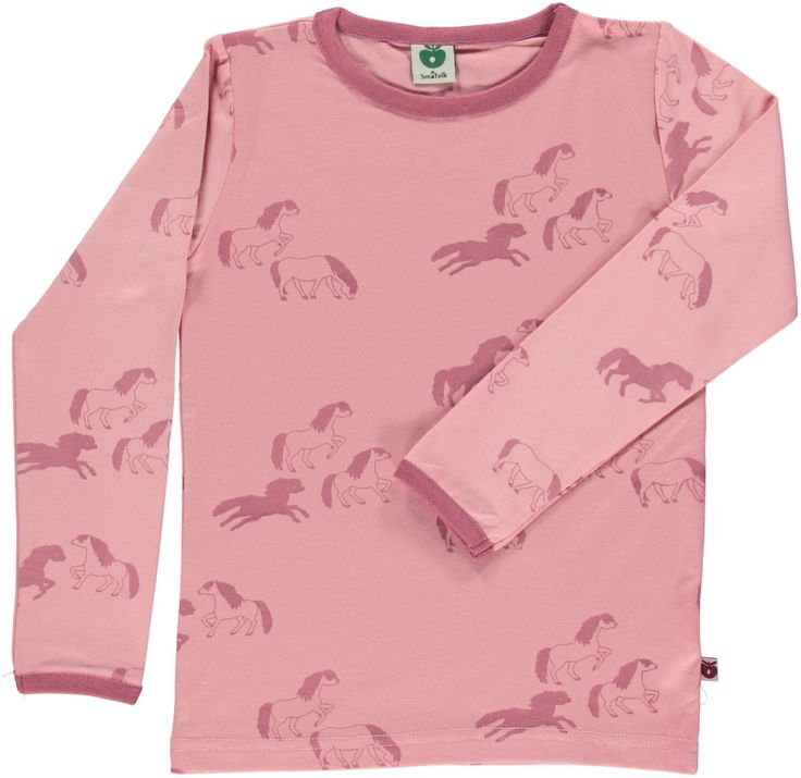 Pink Horse Shirt for Kids