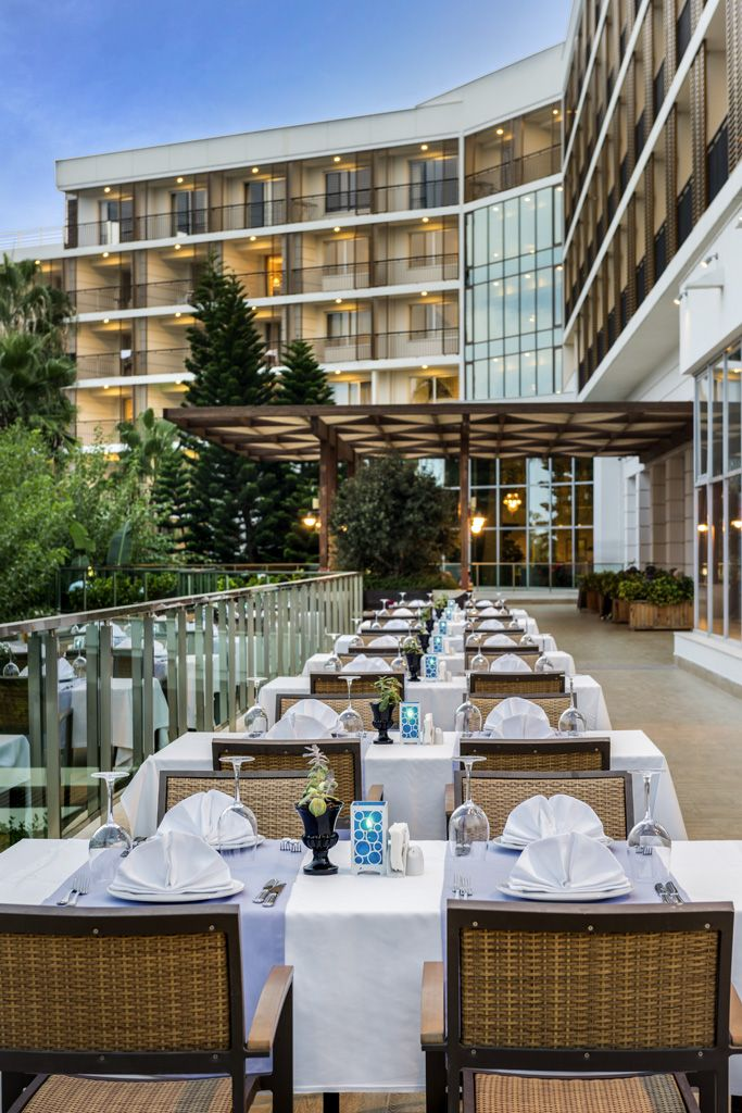 Dinner With A View Rixos Beldibi Hotel Antalya Turkey Hotel Antalya Table Decorations