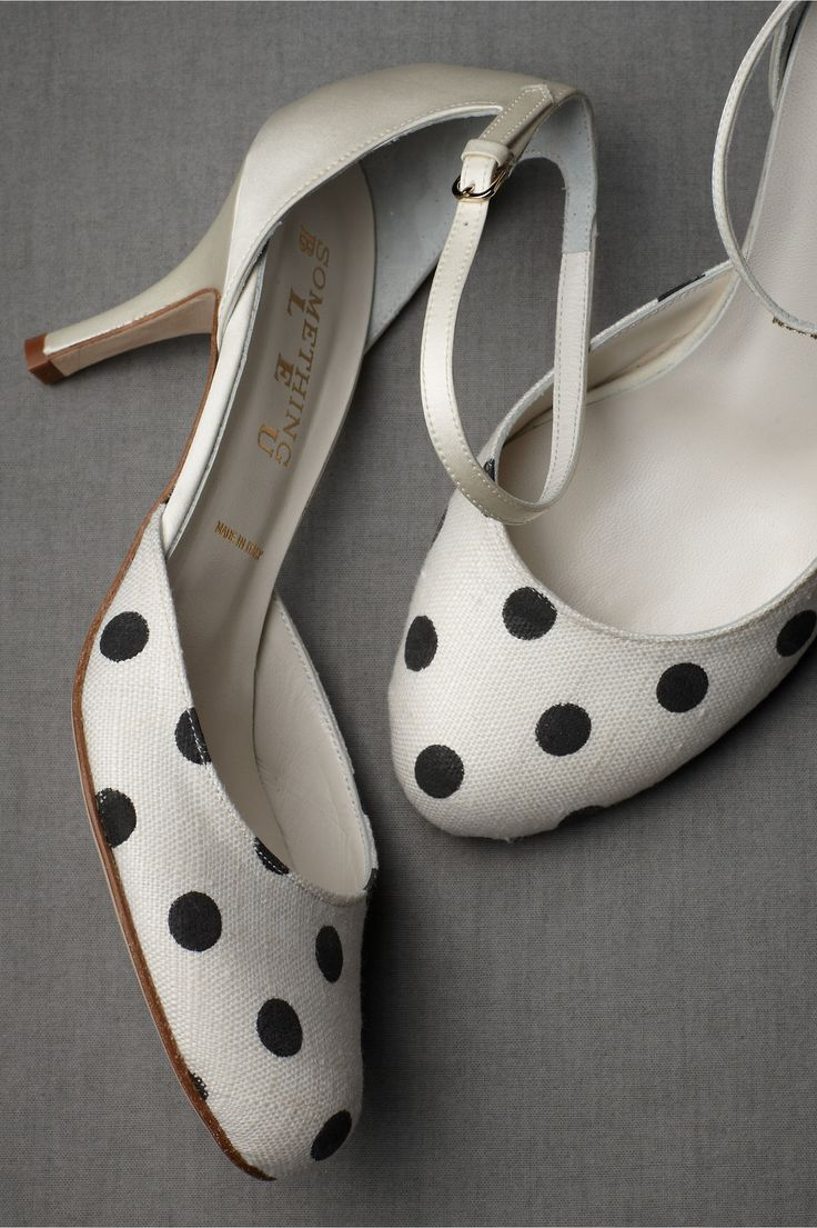 Polka-Dot Mary Janes at BHLDN -- In love with these!