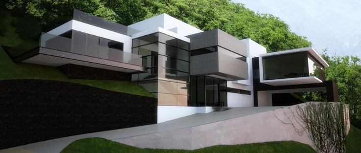 Casa DJ, San Pedro Garza Garcia Mexico by alick asociados arquitectos