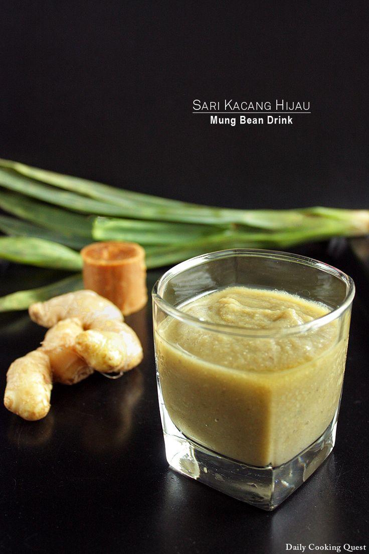 Sari Kacang Hijau – Mung Bean Drink
