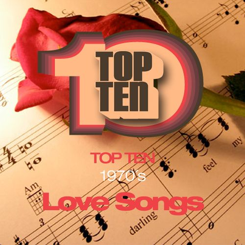 Top Ten 1970´s love Songs.1. Rose Royce - Love don't live here anymore.2. Bee Gees - How Deep Is Your Love.3. Roberta Flack - The First Time Ever I Saw Your Face.4. Diana Ross - Love Hangover.5. Elton John - Your Song.6. Jackson 5 - I'll Be There.7. B.J.Thomas - Raindrops keep falling on my head.8. Carpenters - Close To You.9. Al Green - Lets Stay Together.10. Billy Paul - Me And Mrs Jones.