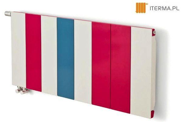 Każdy moduł grzejnika Neo może funkcjonować w dowolnie wybranym przez Ciebie kolorze spośród 262 barw z wzornika Termy dostępnych w naszym sklepie www.iterma.pl