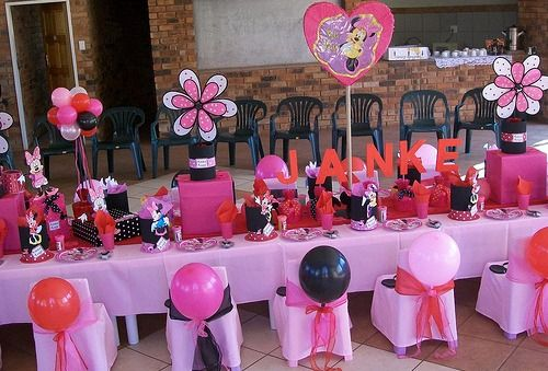 minnie mouse birthday party ideas | Minnie Mouse Party Supplies - Minnie Mouse Cake - Minnie Mouse ...
