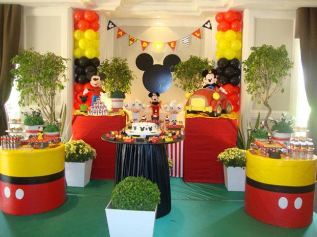 decoracao festa mickey : decoracao festa mickey:Decoracao De Festa Infantil Para Menino