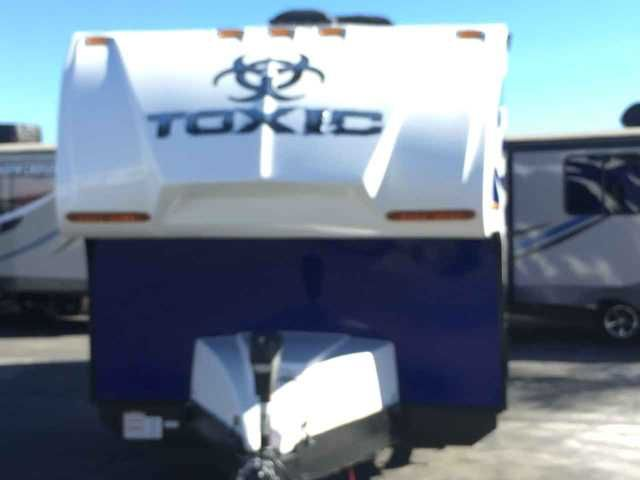 2016 New Omega TOXIC Toy Hauler in California CA.Recreational Vehicle, rv, 2016 Omega RV Toxic 19NST, 2016 Omega RV Toxic 19NST Toy Hauler Nose Sleeper, 10'+ Cargo, Power Awning W/LED Lighting, Outside Speakers, 2 Outside Speakers, 2 Electric Beds, LEDC 12v Blu Tooth TV, AM/FM/CD/DVD/Blu Tooth, Micro Wave, 4.0 Onan W/40Gal Fuel Tank, Zamp 10 AMP Solar Charging, Zamp Remote/Portable Solar Connection, Zamp Charging Station, Stab Jacks Front/Rear,Second50 Gal Fresh Water Tank,
