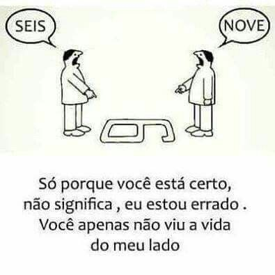 """Cada um te seu """"PONTO DE VISTA""""  por isso não custa respeitar #ficadica"""