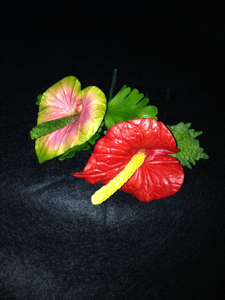 how to make anthurium flower