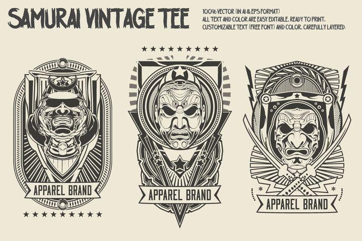 Image of Samurai Vintage Tee