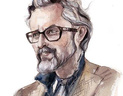 """Check out new work on my @Behance portfolio: """"Portrait Ben Desombre."""" http://be.net/gallery/59309795/Portrait-Ben-Desombre"""