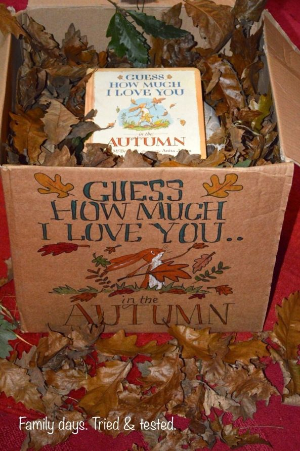 Autumn themed story box