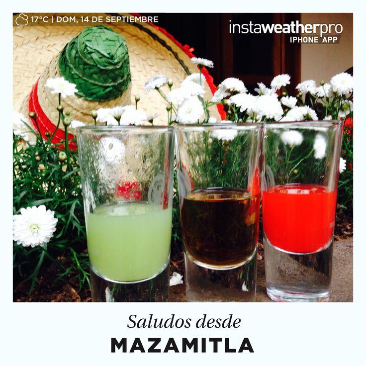 Festejando el orgullo de ser #Mexicanos #Mazamitla #16Septiembre