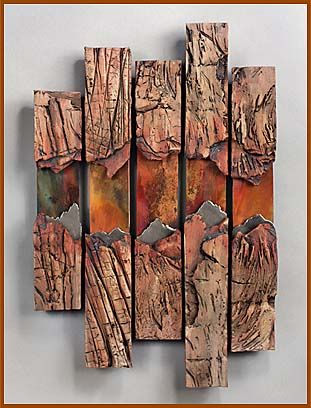 JANEY SKEER CLAY & STEEL - DENVER ARTIST - Gallery of Works - Wall Pieces