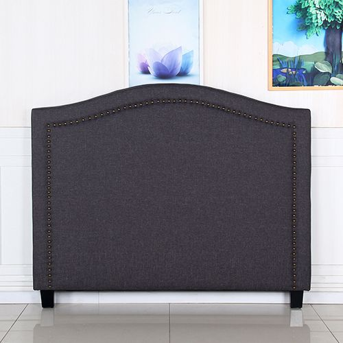 Carla Queen Headboard with Curved Design