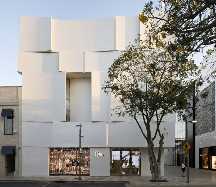 Fachada Dior Miami,© Alessandra Chemollo