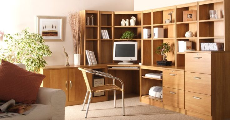Diy Fitted Home Office Furniture Bedroom Wooden Modern ...
