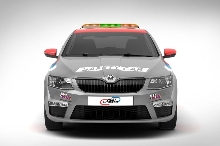 Škoda Octavia RS Safety Car design proposal | Návrh designu vozu Octavia RS Safety Car
